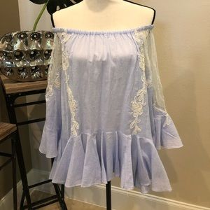ChicWish off the shoulder blouse